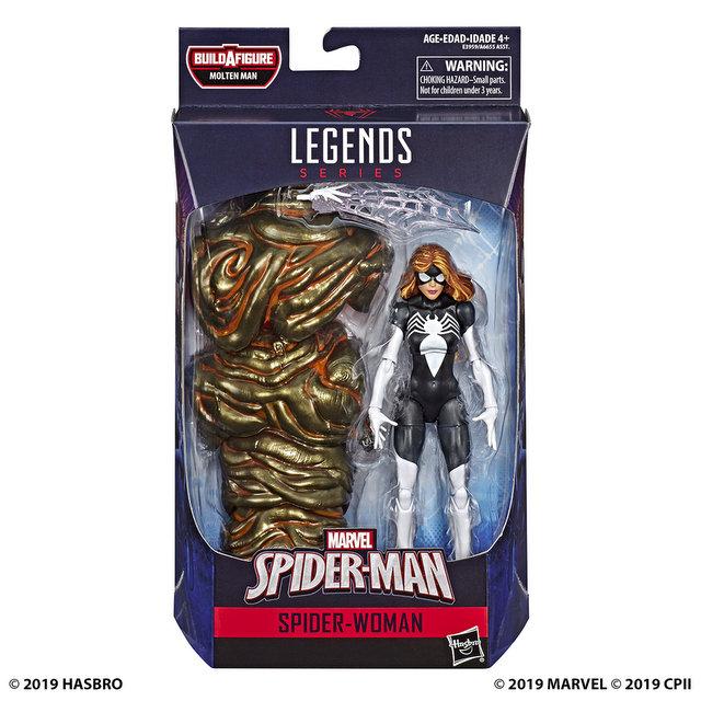 MARVEL SPIDER-MAN LEGENDS SERIES 6-INCH Figure Assortment - Spider-Woman (in pck)