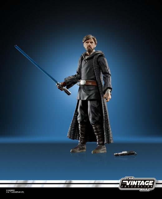 STAR WARS THE VINTAGE COLLECTION 3.75-INCH Figure Assortment - Luke Skywalker (Crait) oop