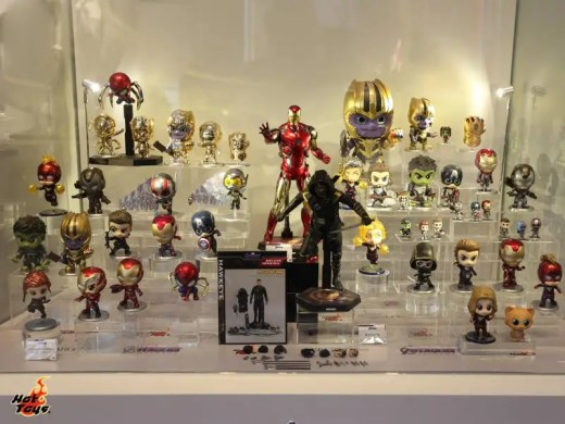 hot toys avengers endgame exhibit cosbabies display