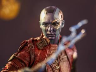 hot toys avengers endgame exhibit nebula