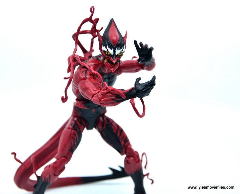marvel legends red goblin figure review - hatching a plan