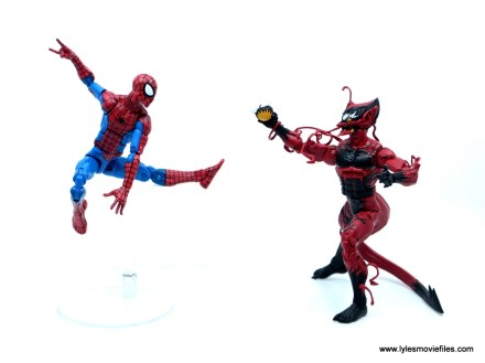marvel legends red goblin figure review - vs spider-man