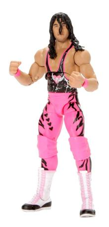 wwe ultimate edition bret hart figure - battle ready