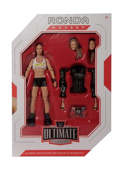 wwe ultimate edition ronda rousey figure - front package