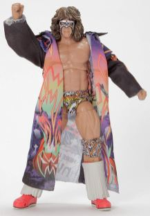 wwe ultimate edition ultimate warrior figure - with coat