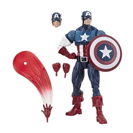 MARVEL LEGENDS SERIES 80TH ANNIVERSARY Figure - Captain America (oop)