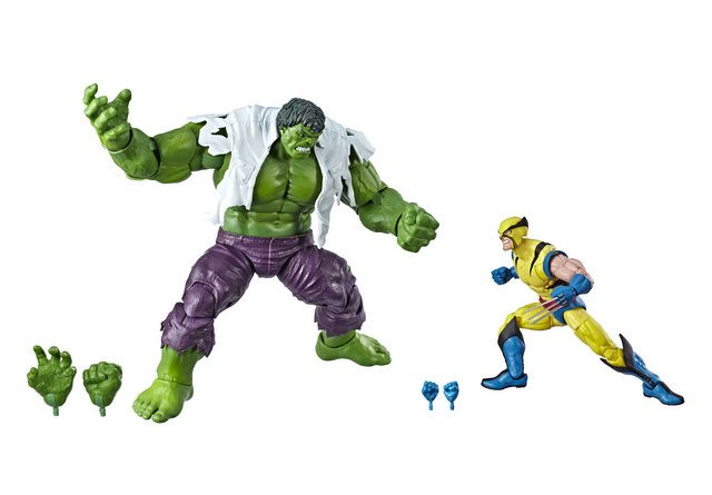 MARVEL LEGENDS SERIES 80TH ANNIVERSARY Figure - Hulk & Wolverine 2-Pack (oop)