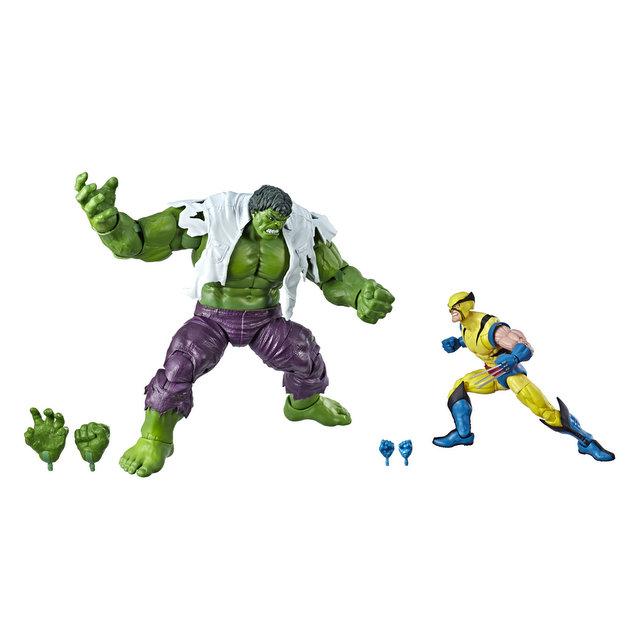 MARVEL LEGENDS SERIES 80TH ANNIVERSARY Figure - Hulk & Wolverine 2-Pack (oop)