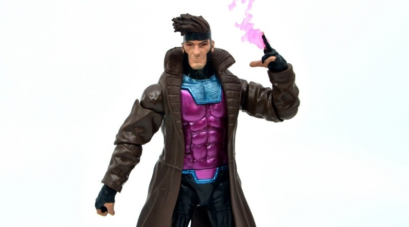 Marvel Legends Gambit figure review -main pic