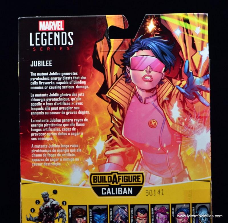 Marvel Legends Jubilee figure review - bio