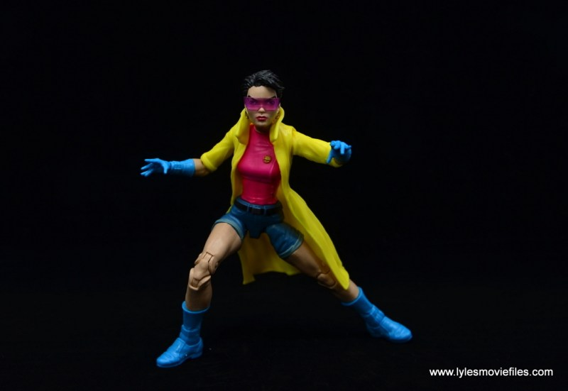 Marvel Legends Jubilee figure review - ready for action