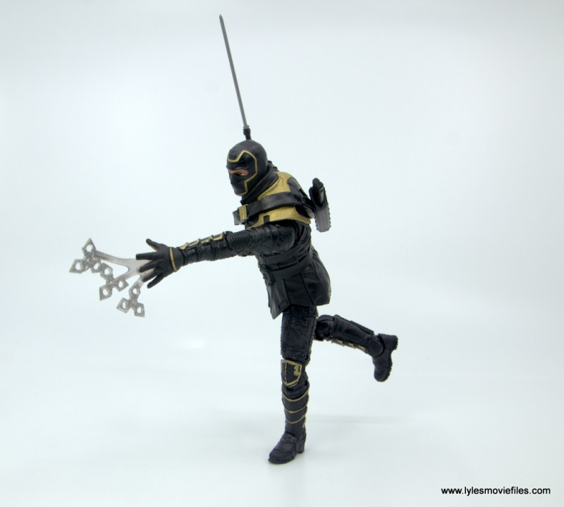 Marvel Legends Ronin figure review - throwing stars