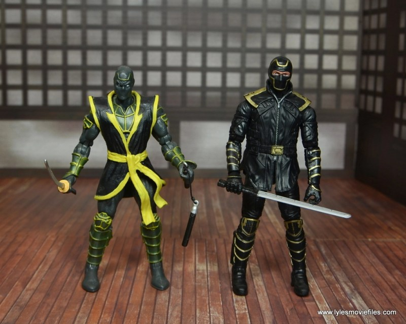 Marvel Legends Ronin figure review - with toy biz ronin