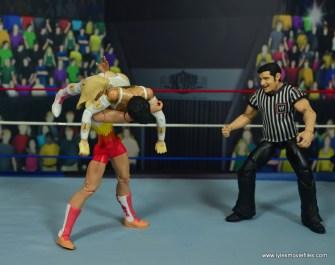 WWE Alundra Blayze figure review - slamming Sherri