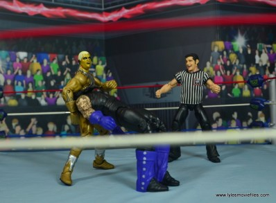 WWE Goldust figure review - curtain call on goldust