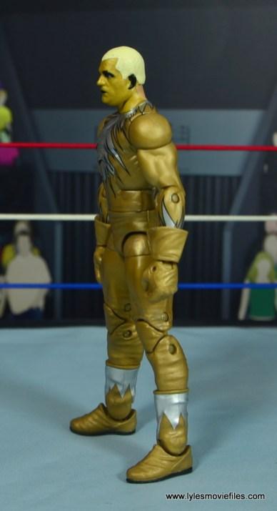 WWE Goldust figure review - left side