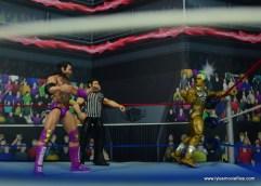 WWE Goldust figure review - mind games with razor ramon