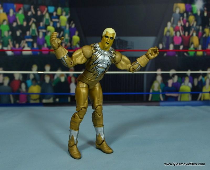 WWE Goldust figure review - posing