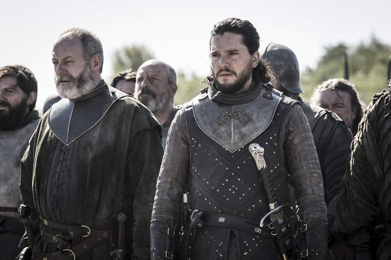 game of thrones the bells review - davos and jon
