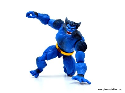 marvel legends beast figure review - ready to spring