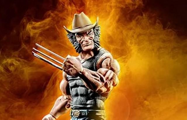 marvel legends cowboy logan figure