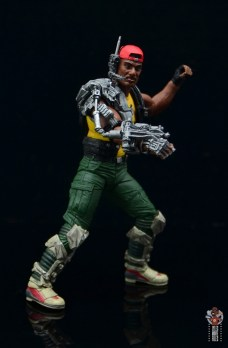 neca aliens sgt apone figure review - pivoting