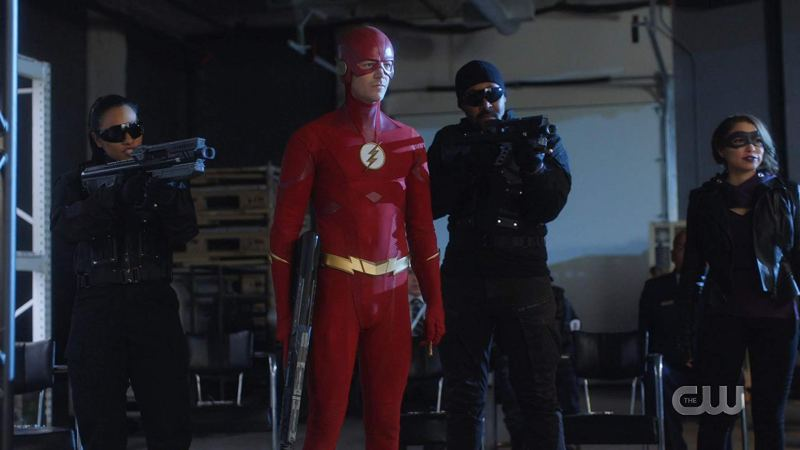 the flash - gone rogue review - team flash