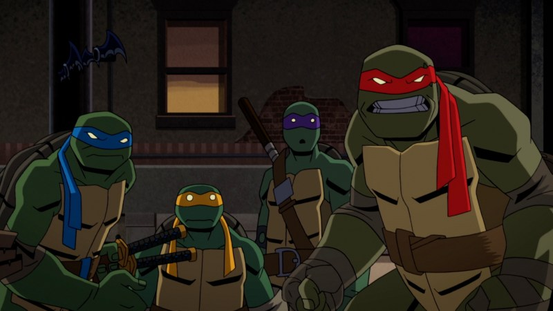 batman vs teenage mutant ninja turtles review - the turtles