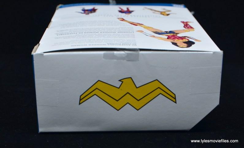 DC Essentials Wonder Woman figure review -package top