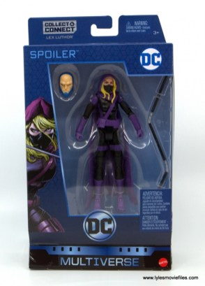 DC Multiverse Spoiler figure review - package front