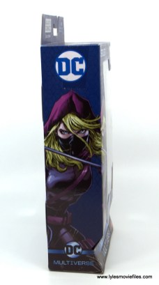 DC Multiverse Spoiler figure review - package side