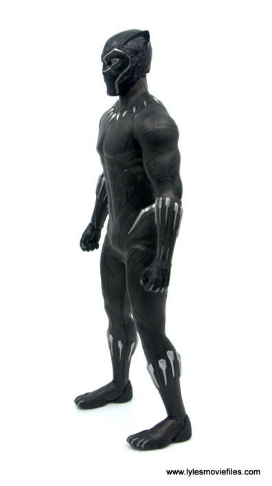 Hot Toys Black Panther figure review - left side