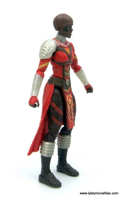 Marvel Legends Dora Milaje figure review - right side