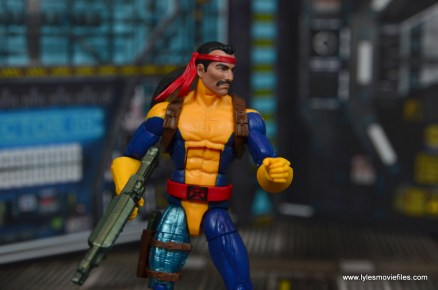 Marvel Legends Forge figure review - at attention