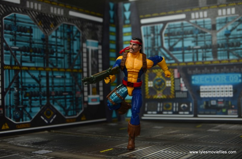 Marvel Legends Forge figure review - charging into action