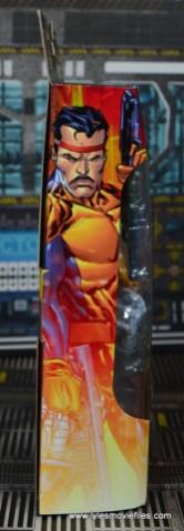 Marvel Legends Forge figure review - package side