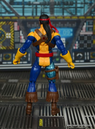Marvel Legends Forge figure review - rear