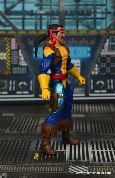 Marvel Legends Forge figure review - right side
