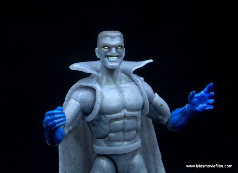 Marvel Legends Grey Gargoyle figure review - arms out