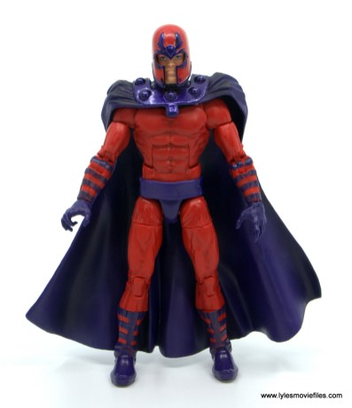 Marvel Legends Magneto, Quicksilver and Scarlet Witch figure review - magneto front