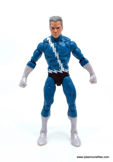 Marvel Legends Magneto, Quicksilver and Scarlet Witch figure review - quicksilver front