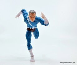 Marvel Legends Magneto, Quicksilver and Scarlet Witch figure review - quicksilver on the run