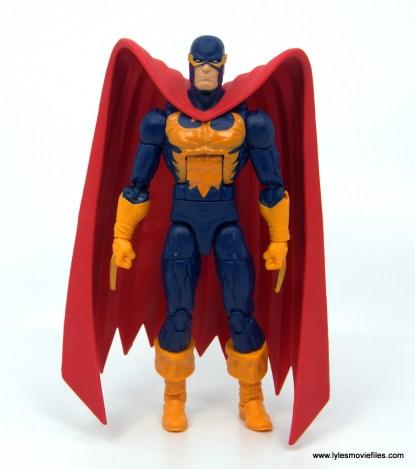 Marvel Legends Nighthawk figure review - front