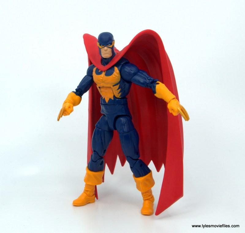 Marvel Legends Nighthawk figure review - standing