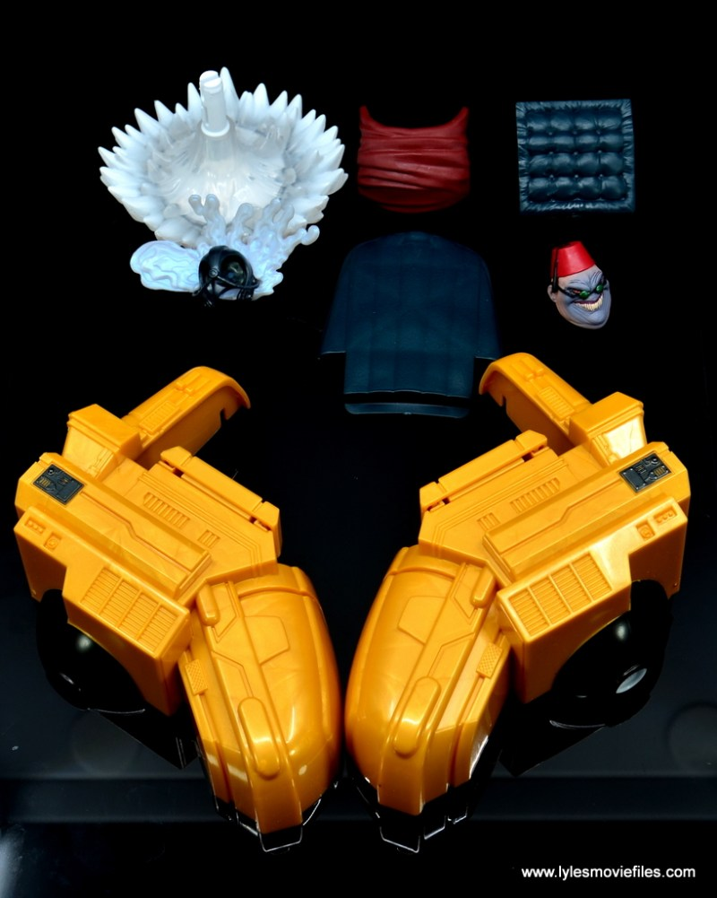 Marvel Legends Professor X figure review - accessories