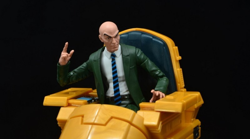 Marvel Legends Professor X figure review - main pic