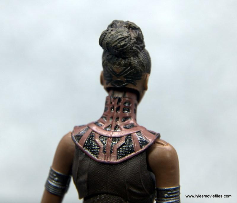 Marvel Legends Shuri figure - head sculpt back