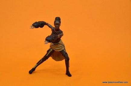 Marvel Legends Shuri figure - wide stance