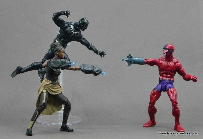 Marvel Legends Shuri figure - with black panther vs klaw