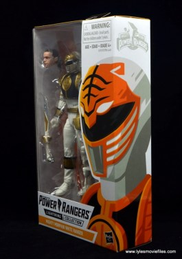 Power Rangers Lightning Collection White Ranger figure review - package side